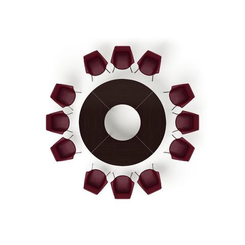 Стол круглый Ø2400 мм (MULTIMEETING)