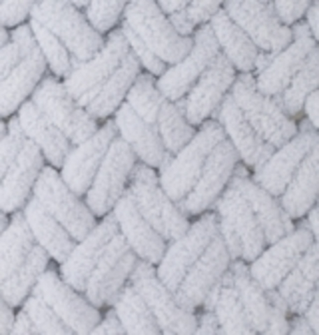 Пряжа Alize Puffy 416 светло-серый