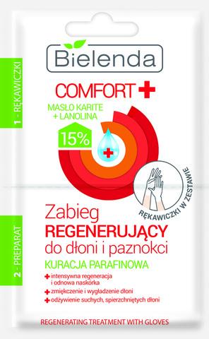 COMFORT Парафиновый курс - Восстановительная процедура для рук