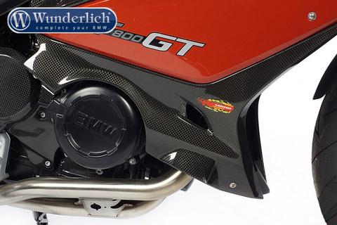 Правая накладка двигателя BMW F800GT carbon