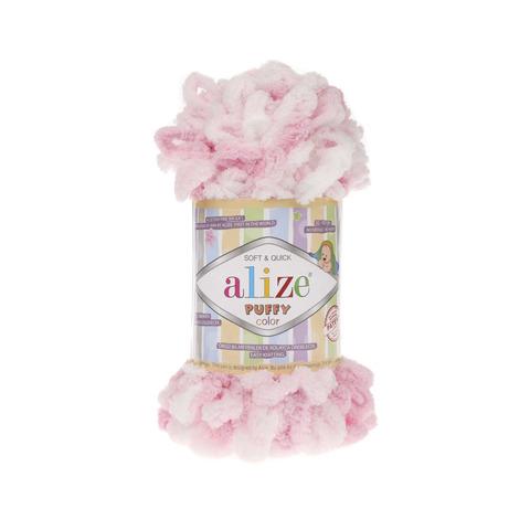 Купить Пряжа Alize Puffy Color Код цвета 5863 | Интернет-магазин пряжи «Пряха»