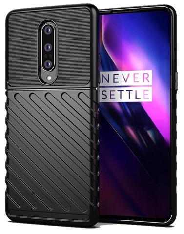 Защитный чехол черного цвета на OnePlus 8, серии Onyx от Caseport
