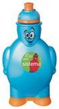 Детская бутылка для воды Sistema, зеленая 350 мл