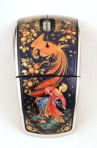 Мышь компьютерная с ручной росписью 1431