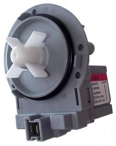 Насос сливной для стиральной машины Hansa (Ханса) 8024541 без улитки- Askoll M253 клеммы вперед ПРОМО