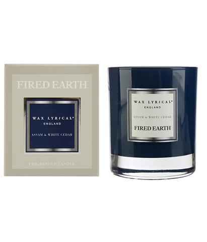 Свеча ароматическая в стекле Ассамский чай и белый кедр, Wax Lyrical
