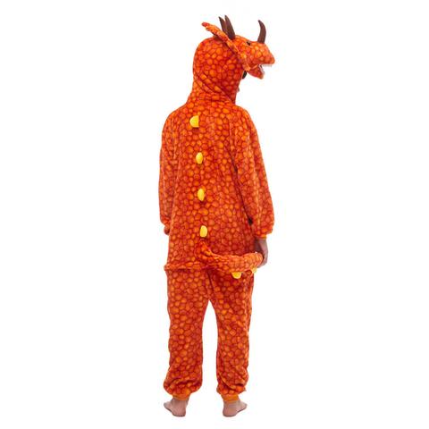 Трицератопс оранжевый 2