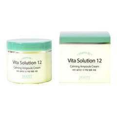 Jigott Vita Solution 12 Calming Ampoule Cream - Крем успокаивающий ампульный