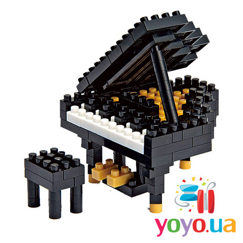 Nanoblocks - Рояль (Grand Piano)