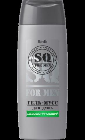 Floralis SQ For Men Гель-мусс для душа Дезодорирующий 250г