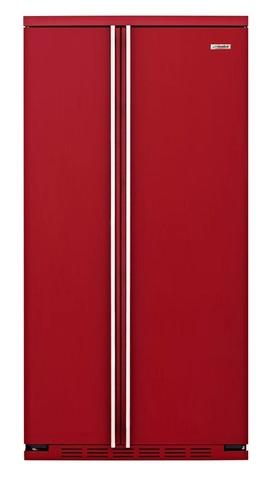 Холодильник side-by-side IO MABE ORGF2DBHF 6RAL красный
