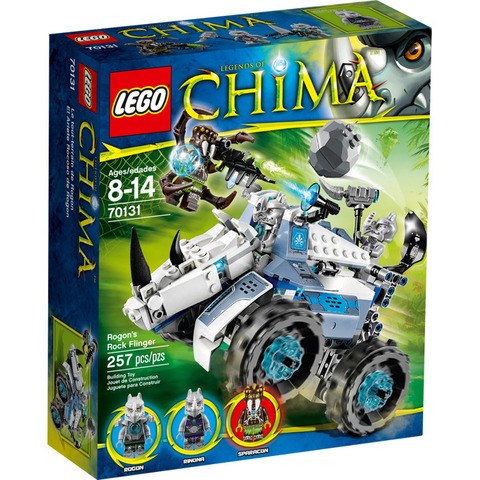 LEGO Chima: Камнемет Рогона 70131 — Rogon's Rock Flinger — Лего Легенды Чима