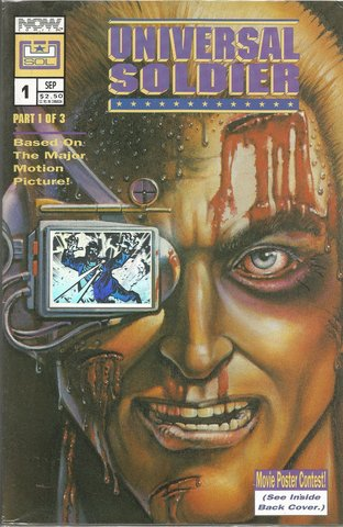 Universal Soldier #1  Holographic cover