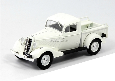 GAZ-M415 white 1:43 DeAgostini Auto Legends USSR Best #21