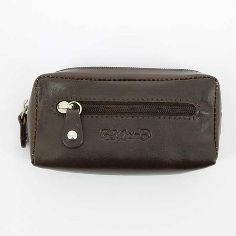 Ключница S.Quire 5300-BR VT из натуральной воловьей кожи цвет коричневый в подарочной фирменной упаковке