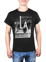 17606-3 футболка мужская, черная