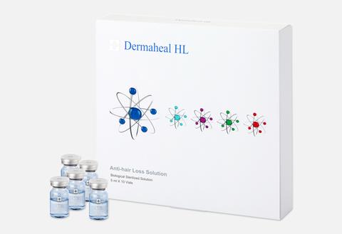 Мезококтейль Dermaheal HL для кожи головы и волос 1 упаковка 10 ампул по 5 мл