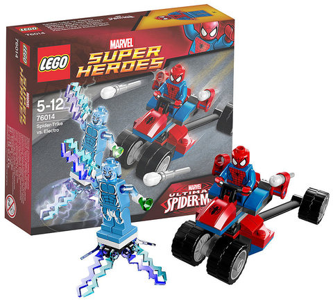LEGO Super Heroes: Спайдер-Трайк против Электро 76014
