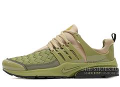 Кроссовки Мужские Nike Air Presto Woven Khaki
