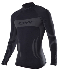 Терморубашка One Way Skinlife HighNeck Black унисекс