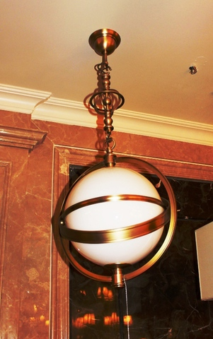 brass pendant 01-51  ( BRITISH LIGHTS)