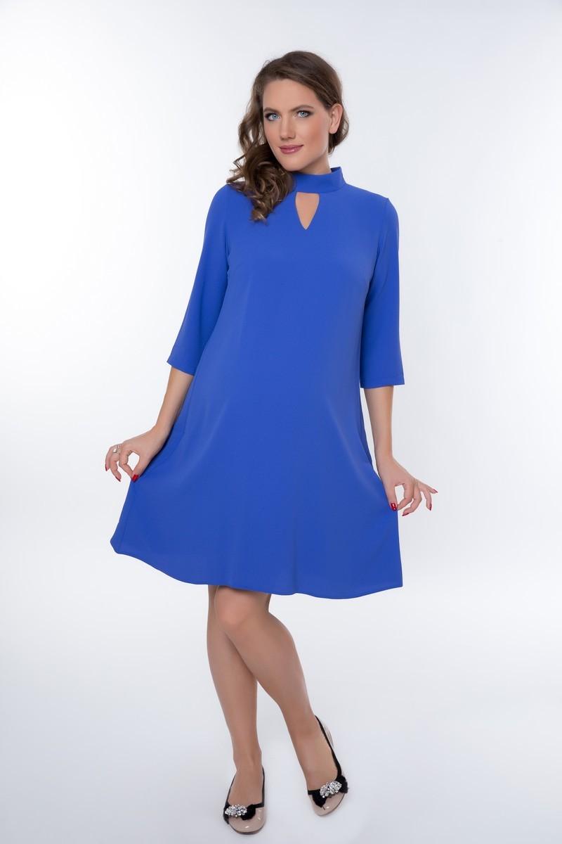 Платье 08965 синий