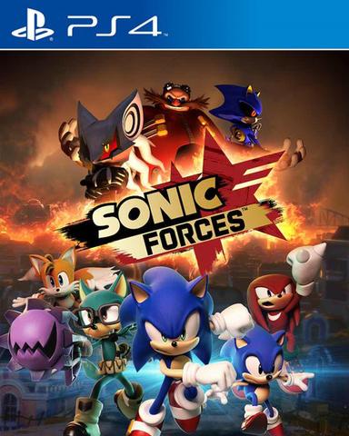 PS4 Sonic Forces (русские субтитры)