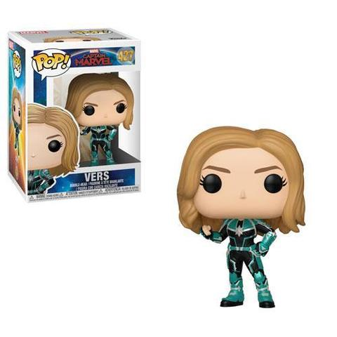 Captain Marvel Vers Funko Pop! Vinyl Figure || Капитан Марвел Крии