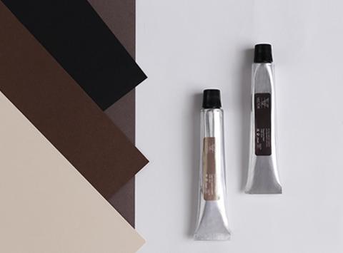 OVB-003 Интенсивная краска для бровей и ресниц Vector Коричневая
