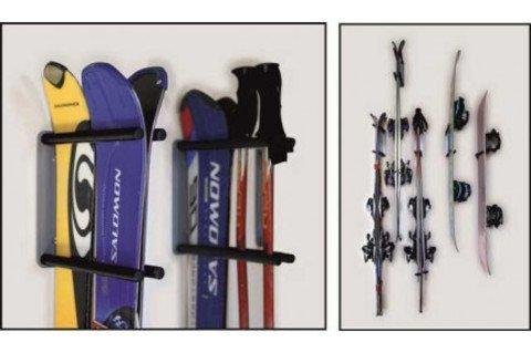 Прорезиненный блок для крепления лыж и сноуборда