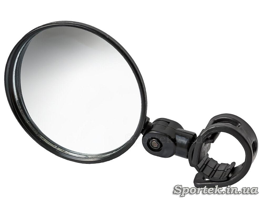 Зеркало заднего вида для велосипеда круглое (80 мм) на левую или правую сторону руля