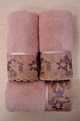 Набор махровых салфеток LALEZAR  3 пр 32х50  Soft Cotton (Турция)