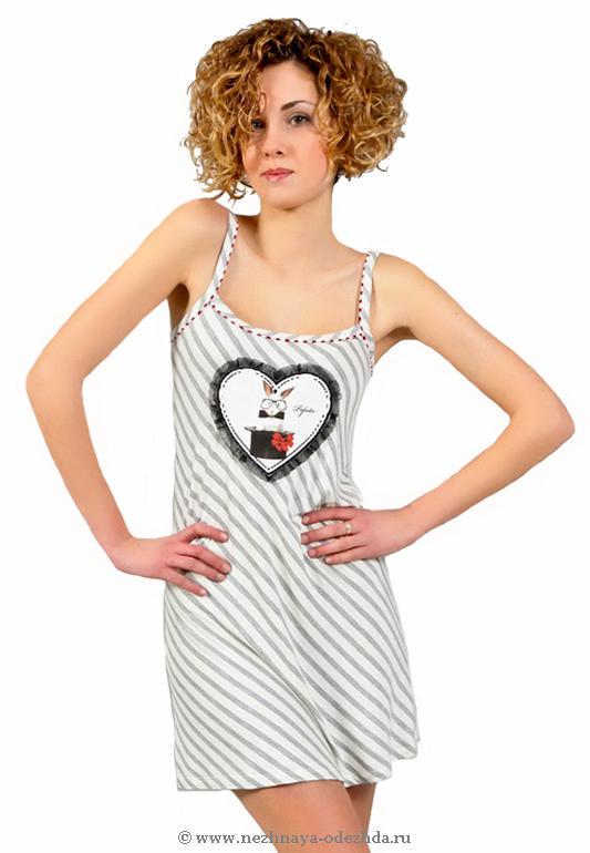 Короткая ночная сорочка Pepita