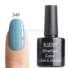 Гель-лак Bluesky № 40549/80549 Azure Wish, 10 мл