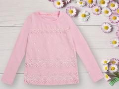 BK1064К-2 кофта для девочек, розовая