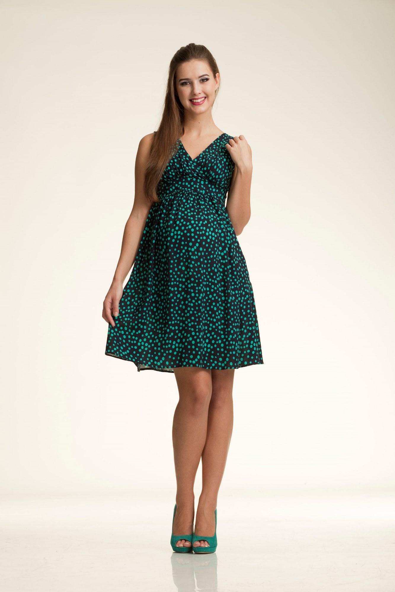 Платье для беременных 06185 темно-синий
