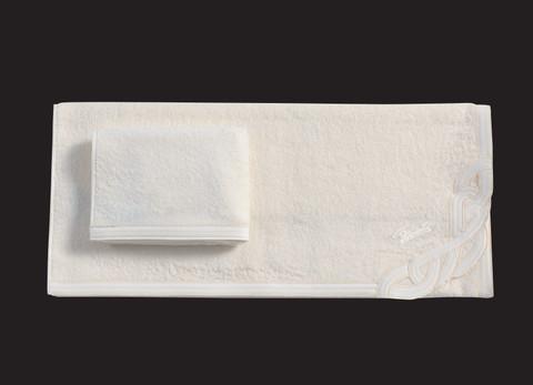 Набор полотенец 2 шт Cesare Paciotti Legend слоновой кости