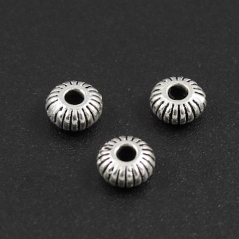 Рондель разделитель 5,2 мм серебро 925