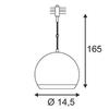 SLV 133482 — Светильник потолочный подвесной LIGHT EYE