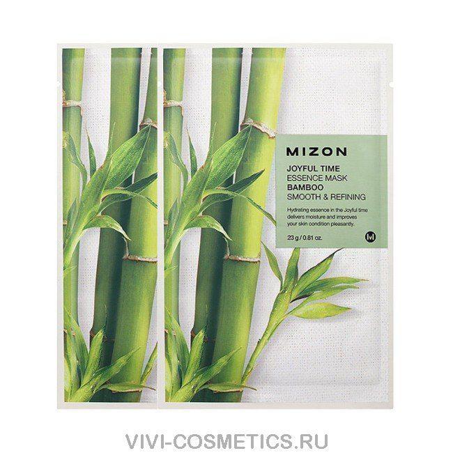 Маска с экстрактом бамбука MIZON
