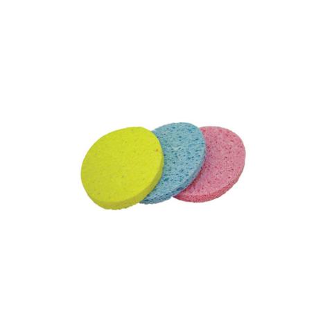 Растительная губка (влажная) для удаления макияжа разноцветные