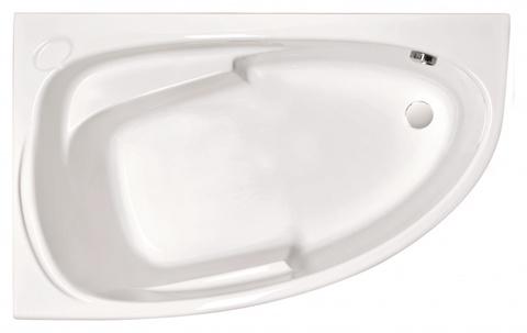 Ванна акриловая Cersanit JOANNA 160*95 ультра белый левая