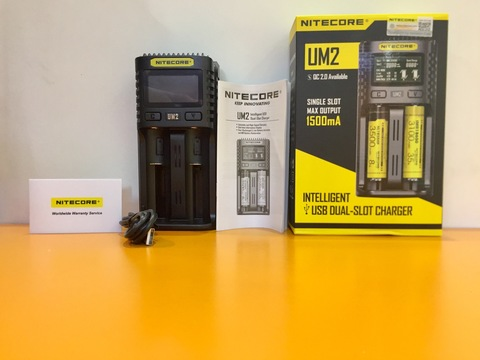 Зарядное устройство Nitecore UM2 Quick Charger на 2 слота