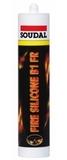 Oгнестойкий силиконовый герметик Соудал В1 FR 310мл (15шт/кор)