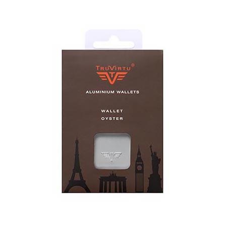 Кошелек c защитой Tru Virtu OYSTER, цвет оранжевый , 102*70*27 мм