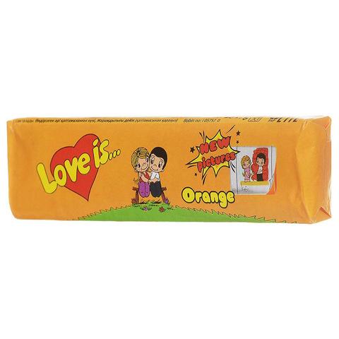 Love Is - новые вкладыши, любимые вкусы (апельсин)