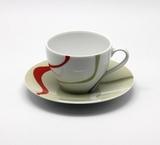 Набор чайная чашка с блюдцем 6 пар VAGUE, артикул 014070600356, производитель - Spal
