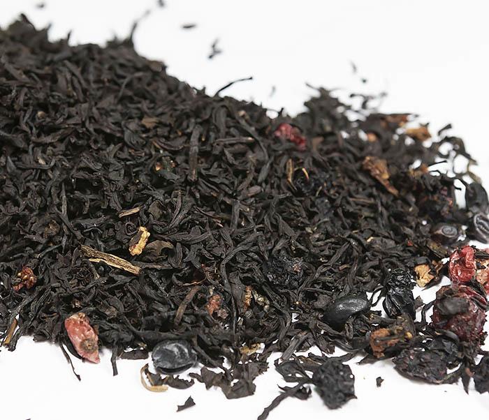 TEA-AR111 Черный ароматизированный чай «Русский чай» (50 гр) фото 01