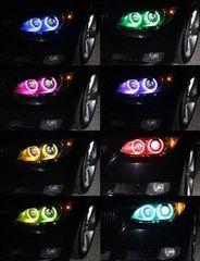 Разноцветные ангельские глазки BMW