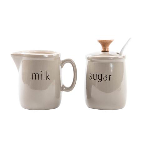 """Набор молочник и сахарница """"GRAY"""""""